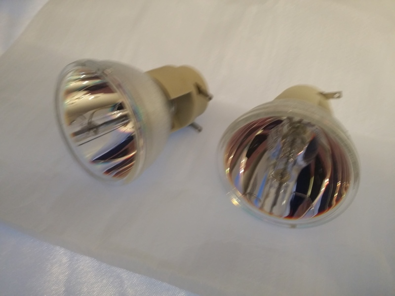 New bulb is on the right. The old one is clearly worn.
