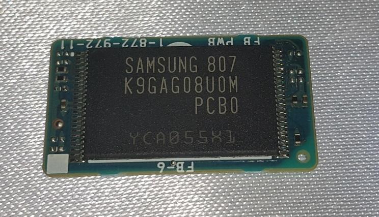 Sony Rolly Flash Chip